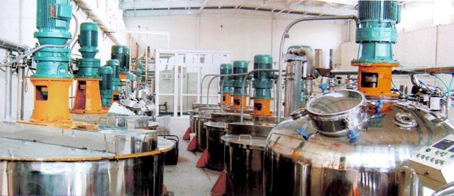 年产6万吨乳胶漆成套生产设备