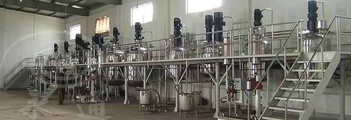 四川成都永通机械涂料自动化生产线系列