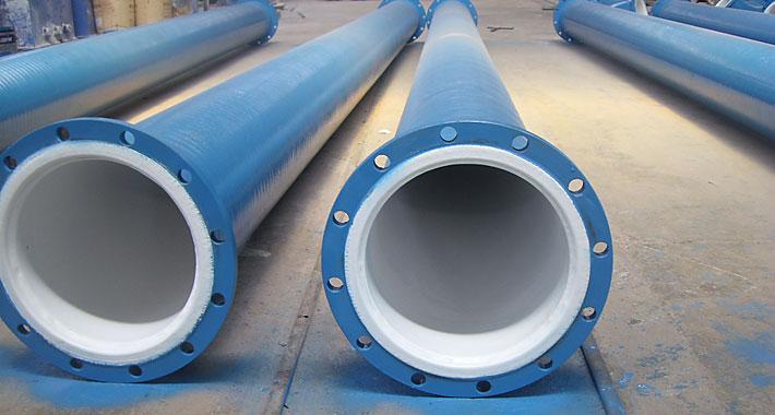 成都永通机械生产的钢衬聚四氟乙烯防腐管道