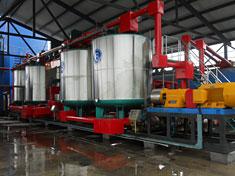30t/hSBS改性乳化沥青生产线