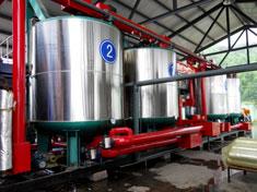 30t/hSBS改性乳化沥青生产线中的沥青溶胀罐