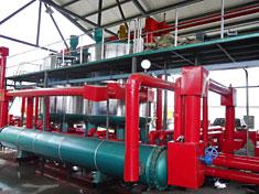 30t/hSBS改性乳化沥青生产线管路系统