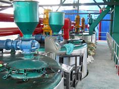 30t/hSBS改性乳化沥青生产线平台