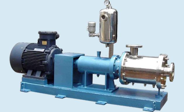 三级管线式乳化机实物照片